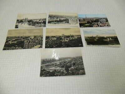 Vintage : CPA 7 cartes postales Paris   Perspective, panorama