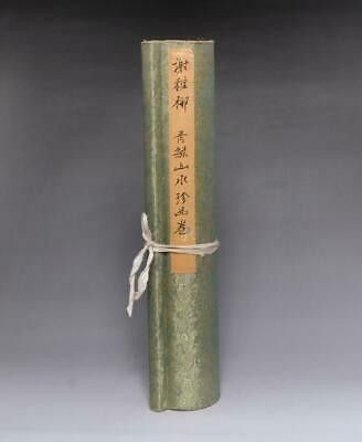 Very Rare Old Chinese Hand Painting Scroll Xie Zhiliu 470Cm (E237)