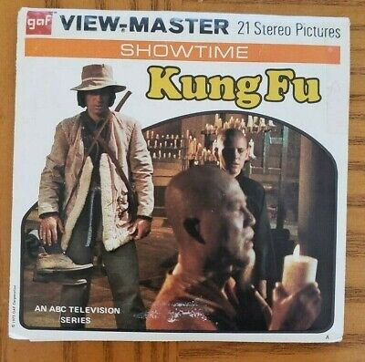 B598 Kung Fu El Brujo - The Brujo episode TV Show view-master Reels Packet