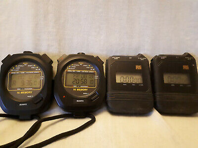 4 stop watches for sale – all from RS components