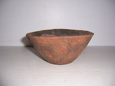Pre-Columbian Mississippian Pottery Keno Incised Bowl Miller Co. Arkansas