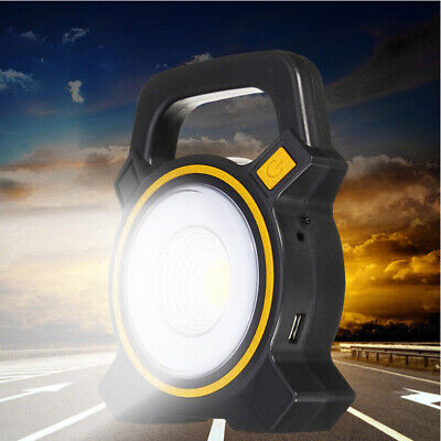 Rechargeable 30W COB LED Portable Flood Light Outdoor Garden Work Spot Lamp CHY