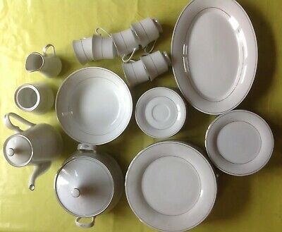 Crown Ming Fine China Part Dinner Service - 30 Pieces - Jian Shiang