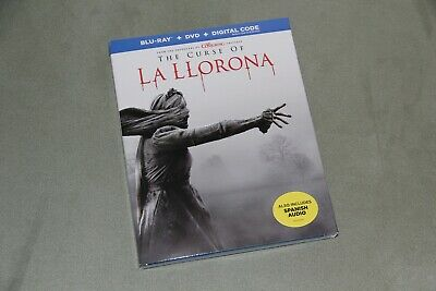 THE CURSE OF LA LLORONA Blu-ray + Digital Slip Cover Brand New SEALED Spanish
