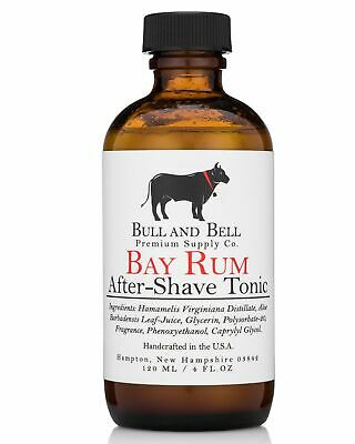 Bay Rum Aftershave Tonic - by Bull and Bell Premium Supply Co.
