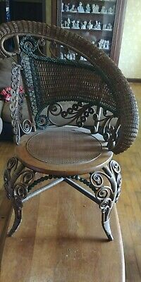 Antique1800's Victorian Heywood Wakefield or Glouster,MASS?? Chair Not Sure