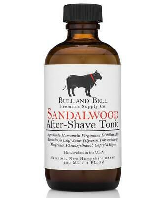 Sandalwood Aftershave Tonic - by Bull and Bell Premium Supply Co.