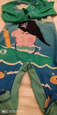 Lovely boys Peppa pig multi swimming suit age 3-4yrs