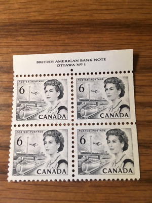 Canada Stamps. 1970. Queen Elizabeth. 100th Ann. Celebration. Block of 4. MNF