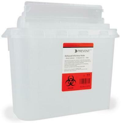 "McKesson Prevent Sharps Container, 11""Hx12""Wx4.75""D, 5.4 Quart, EA/1, #2270"