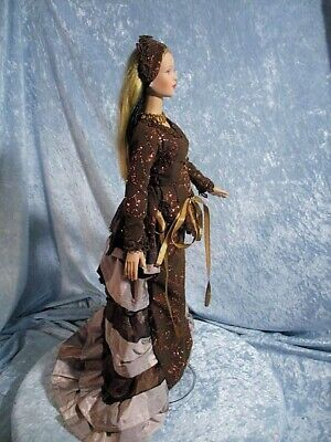 Bronze Age a Doll Dress, Shoes, Hat, Jewelry fits Tyler Wentworth doll body