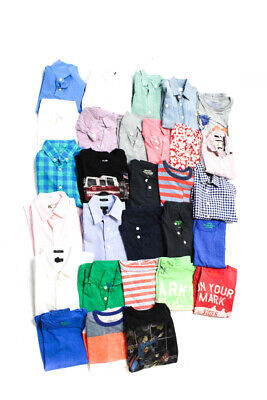 Crewcuts Mayoral Vineyard Vines Fore Wes & Willy Boys Shirts Size 3T 4T Lot 29