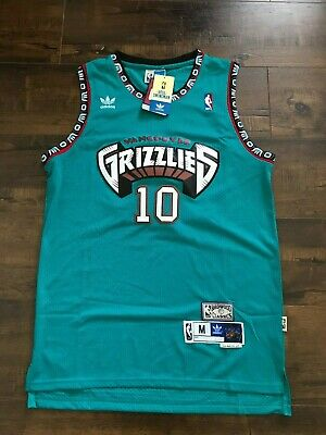 the latest 4a43c aadda NEW MIKE BIBBY Vancouver Grizzlies Hardwood Classics Throwback Jersey / ALL  SIZE