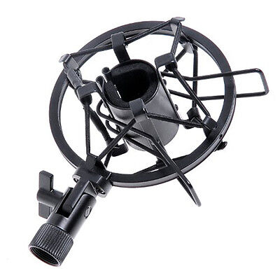 Mic Microphone Shock Mount Stand Holder Mount Clip for Studio Sound Recording wy