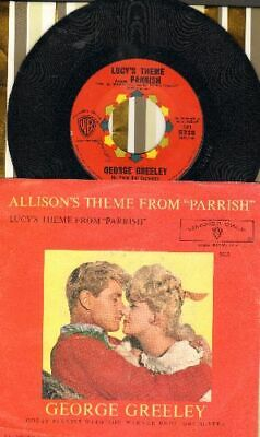 Greeley, George & Orchestra Lucy's Theme From -Parrish Vinyl 45 rpm record
