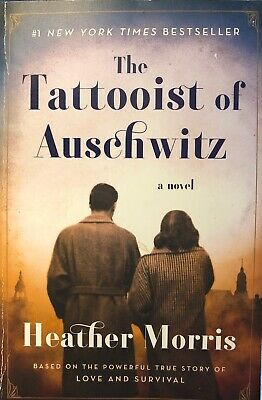 The Tattooist of Auschwitz by Heather Morris (2018, T. Paperback) 1st US Edition