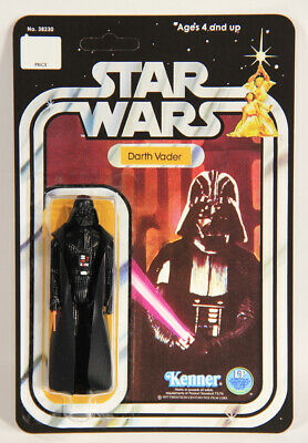 L012607 Star Wars 1977 Custom Card 12 Back Action Figure / Darth Vader / Kenner