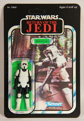 L012609 Star Wars ROTJ / Custom Card / 1983 / Action Figure / Biker Scout