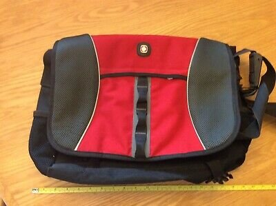 Swiss Gear Multi Pocket Large Messenger Bag Style Carry-on, With Laptop Section
