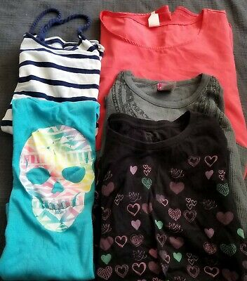 5 Piece Lot Of Tops Women's Size Large Disney Mickey Mouse & More! GOOD DEAL!!!!