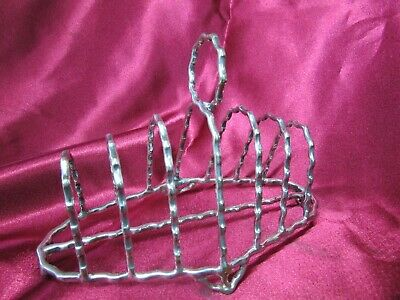 Antique Silver Plate Toast Made By Hukin & Heath Christopher Dresser C.1900'S