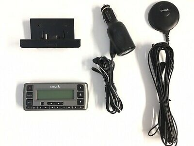 Sirius Satellite Radio System SV3 Receiver Antenna 12v Adapter Cradle