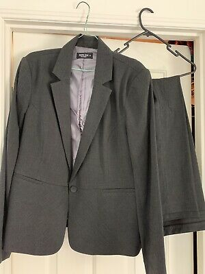 JACQUI E work suit - Size 16 - Jacket, Pants And Skirt.