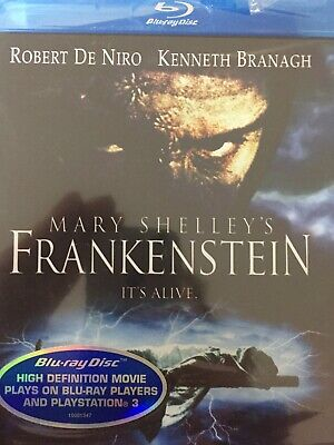 MARY SHELLEY'S FRANKENSTEIN (Robert De Niro) BLURAY 1994 BRAND NEW! *All Region*