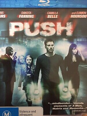 PUSH (Chris Evans Dakota Fanning) - BLURAY 2008 AS NEW!