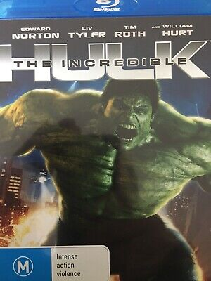 The Incredible Hulk - Bluray 2008 As New!