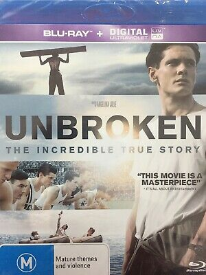 Unbroken - Bluray 2014 Brand New!