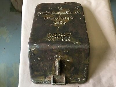 South Australian Railways Ground Signal switch control Box Cover 1915