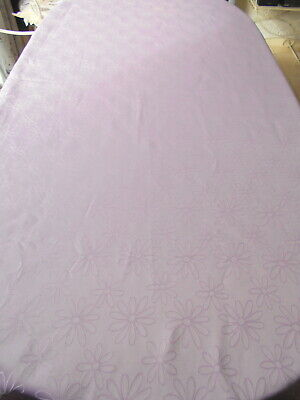 Pretty Retro P Ink Vintage Tablecloth, With Daisy Pattern