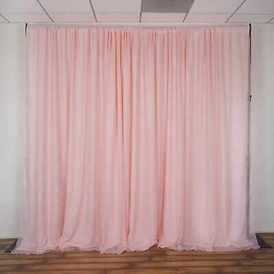 BLUSH BACKDROP 20x10 ft Stage Party Wedding Tradeshow Booth Decorations SALE