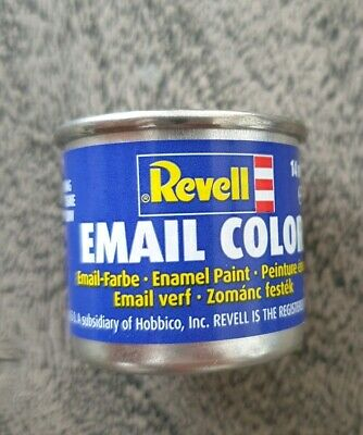 Revell Email Color Farbe 14 ml Semi-Matt Weiss (Nr.301)