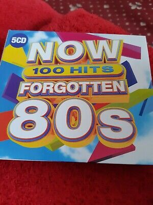Various Artists- NOW 100 Hits Forgotten 80s,5CD