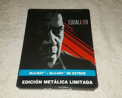 Equalizer II  steelbook blu ray 2 discs. New and sealed // Read description