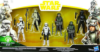 STAR WARS STORMTROOPER PATROL 6 FIGUREN ua. MIMBAN TROOPER, MUD TROOPER HASBRO