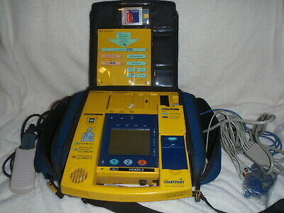 Philips XLT Laerdal Heartstart 4000 Defib AED + MANUAL MODE Pacer Charger
