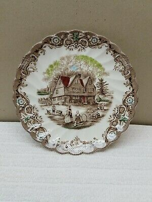 Vintage Heritage Hall by Johnson Bros. Cup Saucer Never Used Ironstone 4411