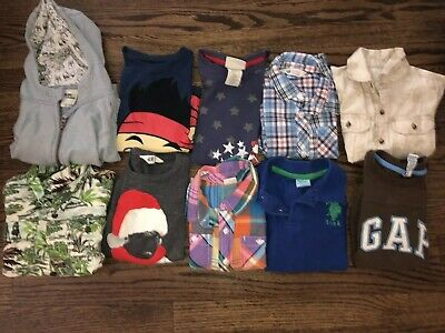 Lot Of Boys Size 3t T-shirts And Long Sleeved 10