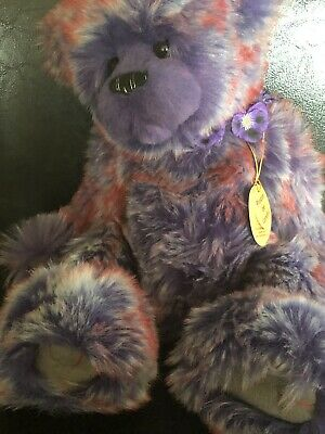 Charlie Bears Pansy Rare & Retired-2013 Secret collection