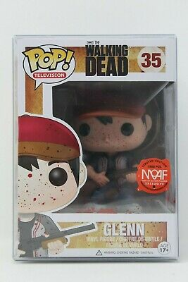 Funko POP Television The Walking Dead BLOODY GLENN #35 (MOAF EXC) Vinyl + .70mm