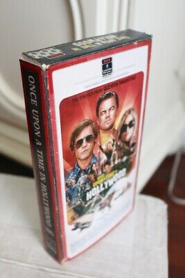 Once Upon a Time in HOLLYWOOD custom VHS BOX ONLY fanart decor poster