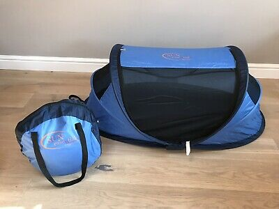 Sun Essential By Nescessity/NSA Pop Up Travel Cot/centre & UV protection Tent