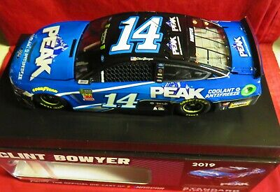 Brand New, 1/24 Action  2019 Mustang, #14, Peak, Clint Bowyer