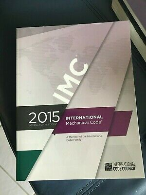 2015 ICC International Mechanical Code ICC Paperback - Excellent Used Condition