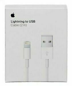 LOT OF 5 Genuine OEM Apple iPhone X 8 7 6 Plus Lightning USB Charger Cable 1M/3F