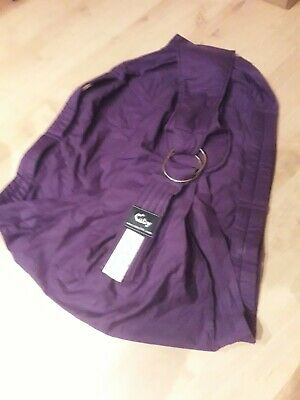 Cuby branded Baby Carrier - purple - sling style baby carrier - easy carry