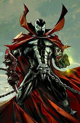 SPAWN 300 COVER L 1:50 INCENTIVE TODD McFARLANE VIRGIN VARIANT NM